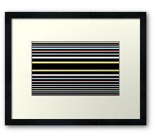 Bumble (Liquorice) Framed Print
