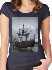 Sailing Ship 2 Women's Fitted Scoop T-Shirt