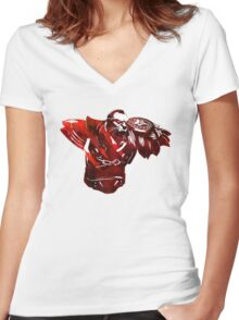 DOTA 2 - Lycan Women's Fitted V-Neck T-Shirt