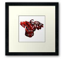 DOTA 2 - Lycan Framed Print