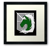 Military Police Framed Print