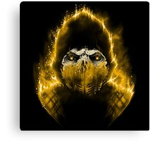 The Hell Scorpion Canvas Print