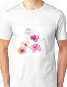 Floral feeling Unisex T-Shirt