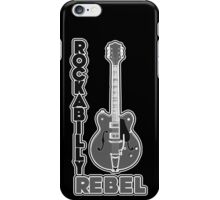 Rockabilly Rebel - monotone iPhone Case/Skin