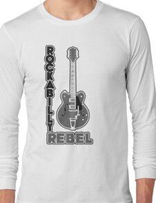 Rockabilly Rebel - monotone Long Sleeve T-Shirt