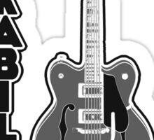 Rockabilly Rebel - monotone Sticker