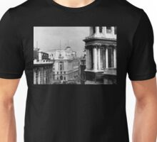 Looking Down on Lombard St in the 1940s Unisex T-Shirt