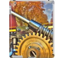 Traction engine gear iPad Case/Skin