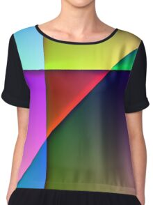 Abstract No.9 Chiffon Top