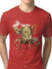 Bubbly Teapot, Wonderland Tri-blend T-Shirt