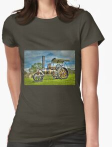 Fowler T3 Road Roller Womens Fitted T-Shirt