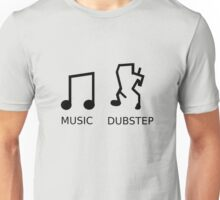 Music Vs. Dubstep Unisex T-Shirt