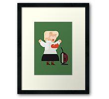 Mrs Doubtfire Framed Print