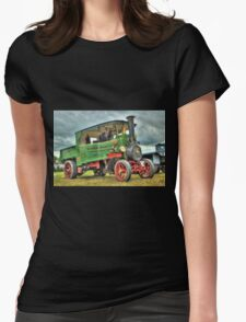 Foden Steam Wagon  Womens Fitted T-Shirt