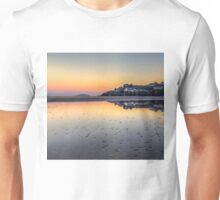 Abersoch Harbour beach reflections HBTRI Unisex T-Shirt