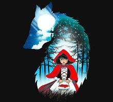 Red Hood Wolf Unisex T-Shirt