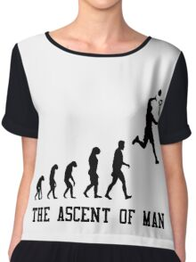 The Ascent of Man Chiffon Top