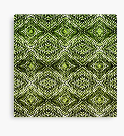 Memories of Woven Grass, Verdure  Canvas Print