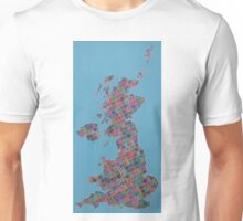 Anywhere in the UK for the price of a stamp Unisex T-Shirt
