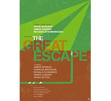 The Great Escape - Movie Poster Photographic Print