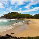 Surfs up Cabarita  by sarcalder