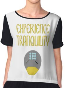 Experience tranquility Chiffon Top