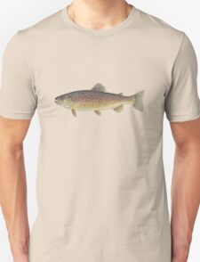 Brown Trout (Salmo trutta) Unisex T-Shirt