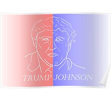 Trump and Johnson Poster