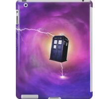TARDIS IN A BLACK HOLE iPad Case/Skin