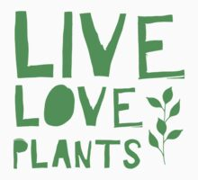 LIVE love plants One Piece - Long Sleeve