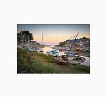 Abersoch harbour with old boats. IHKN Unisex T-Shirt