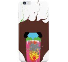 Flaming Bear Design iPhone Case/Skin