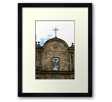 St. George Stained Glass Framed Print