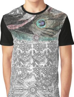 Peacock feather. Graphic T-Shirt