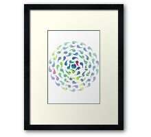 Abstract Swirl 2 Framed Print
