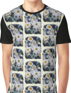 white flowers Graphic T-Shirt