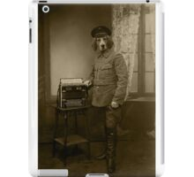 Old War Dog iPad Case/Skin