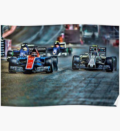 Formula 1 Monaco Grand Prix 2016 Poster