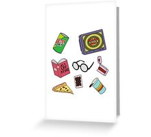 Daria Pattern Greeting Card