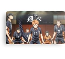 """Fly"" Haikyuu!! poster Metal Print"