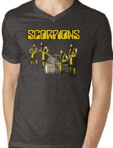 SCORPIONS - MORTAL KOMBAT ROCK BAND Mens V-Neck T-Shirt