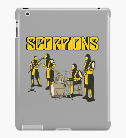 SCORPIONS - MORTAL KOMBAT ROCK BAND iPad Case/Skin