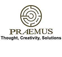 Praemus Logo and Slogan Photographic Print