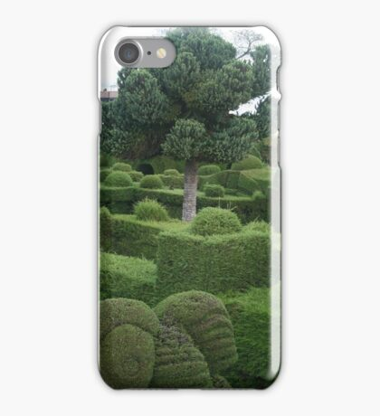 Tulcan Topiaries in Cemetery iPhone Case/Skin