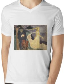 Edvard Munch - Separation. Munch - lovers. Mens V-Neck T-Shirt