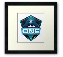 ESL One Framed Print