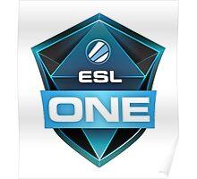 ESL One Poster