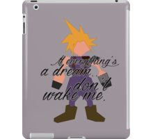 Dream... iPad Case/Skin