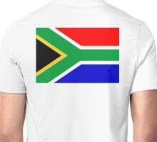 South Africa, South African Flag, AFRICA, AFRICAN, Flag, Republic of South Africa Unisex T-Shirt