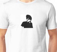 Slacker Black and White Unisex T-Shirt